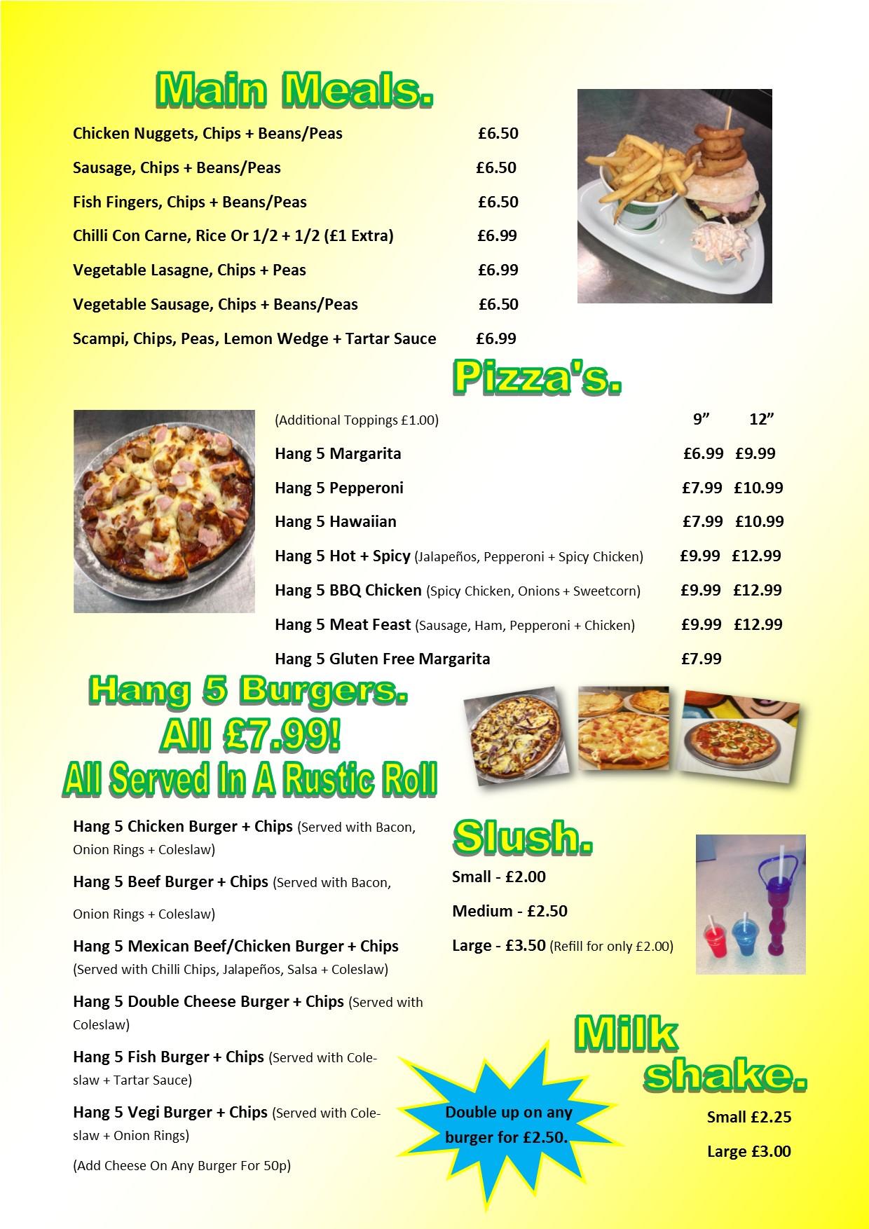New menu 2
